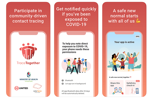 Singapore's Tracetogether App
