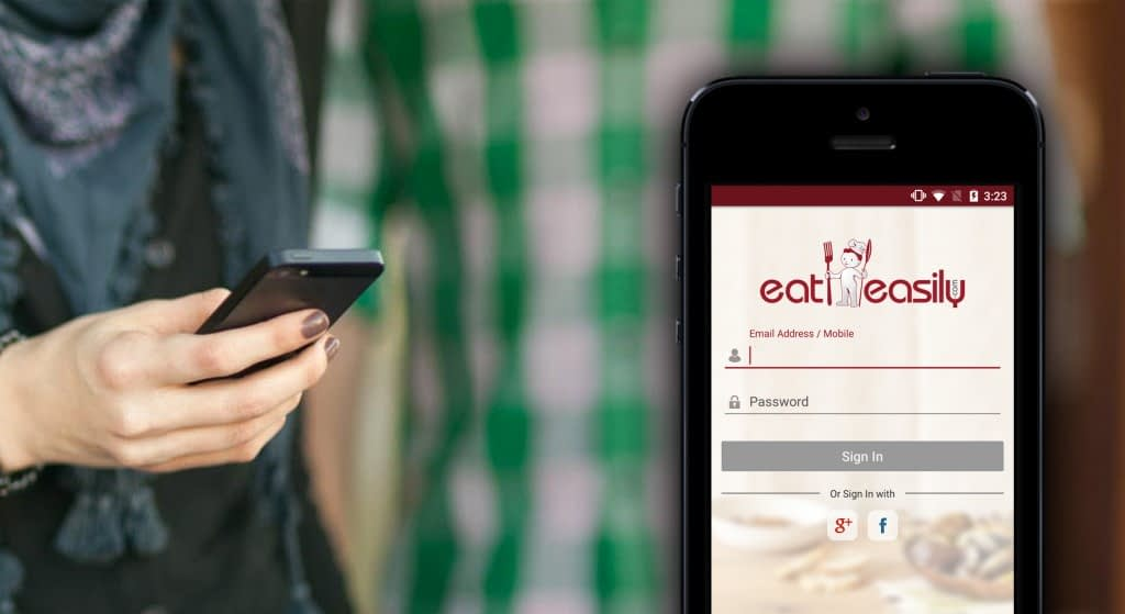 Eat Easily, A Marvel in Mobile Application That Helps You Eat Easily
