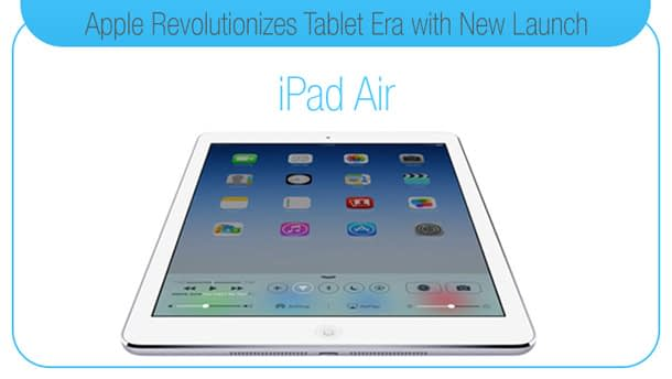 Apple Revolutionizes Tablet Era with New Launch: iPad Air
