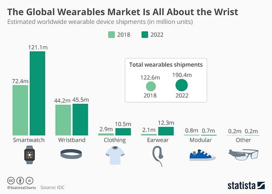 The Global Wearables Market